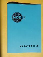 Noris Katalog 1953 für Mopeds, Roller, Motorräder, PKW, Lieferwagen und Mofa