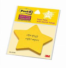 3M Post It STAR Shaped Sticky Note Yellow 70mm*60mm office school pen