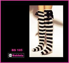 Custom Stockings For Blythe/Pullip/Obitsu/Lalaloopsy/Monster High -BS105,BK & WH