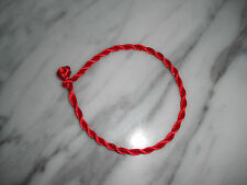 """Kabbalah lucky red string bracelet one size 7.5"""" L one size"""