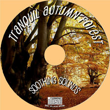 Relax to the Natural Sounds of the Autumn Forest on CD - PURE SOUNDS OF NATURE