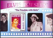 Sierra Leone 2010 Elvis Presley/Music/Films/Cinema/People/Movies 1v m/s (n40884)