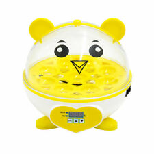 9 Eggs Incubator Chicken Digital Automatic LED Science Kids Home Experiment Tool