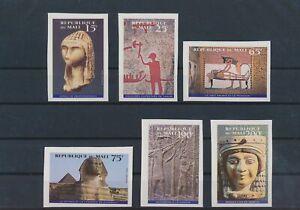 LO43627 Mali imperf egyptian art fine lot MNH