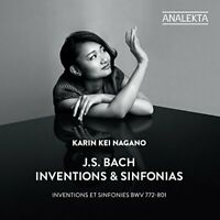 Karin Kei Nagano - J.S. Bach: Inventions and Sinfonias [CD]