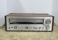 Technics Model SA-404 FM/AM AV Stereo Receiver 2 Channel For Parts Or Repair