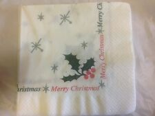 1000 x Napkins Christmas Design 40cm (2ply) PARTY BUFFET FOOD (1129)