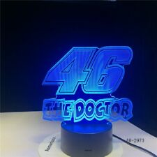 46 The Doctor 3D LED LAMP NIGHT LIGHT Drop Shipping Hot RGBW Bulb Christmas Deco