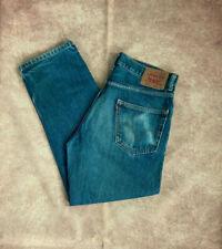 "Levi's Mens 550 Jeans 34""W X 29""L Relaxed Fit Blue Loose Denim -LJ2"