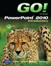 Like-New GO! with Microsoft PowerPoint 2010 Introductory With Unopened CD