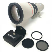 Canon EF 400mm f/5.6L USM + Lens Filter Kit 77mm - UK NEXT DAY DELIVERY