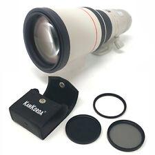 Canon EF 400mm f/5.6L + Kit de Lente Filtro USM 77mm-UK entrega al día siguiente