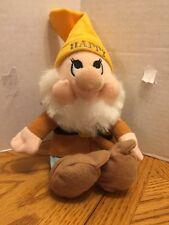 "Walt Disney Company The Seven Dwarves Plush Happy 8"""