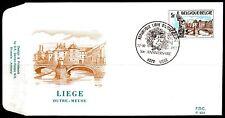 Belgium obp 1872 - LIEGE OUTRE-MEUSE TCHANTCHES - 1977 - FDC LIEGE