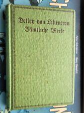 Detlev von Liliencron: Sämtliche Werke Bd. 12 Streifzüge um Poggfred
