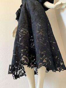 Irregular Self-Portrait Lace Midi Dress