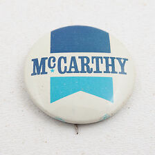 Mc Carthy Pinback Button Vintage (C4L-10) E Horn Philadelphia