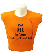 Put Me In Your Candy Bag T-Shirt Adult Womens Halloween Shirt