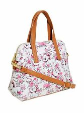 NWT Loungefly's Aristocats Marie Floral All Over Print Faux Leather Bag
