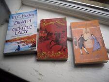 Set of 3 M.C.Beaton books 2 School for manners & 1 Agatha Raisin