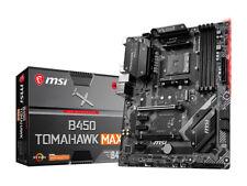 NEW MSI B450 TOMAHAWK MAX Socket AM4 AMD B450 Motherboard ATX HDMI DVI USB3.2