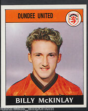 Panini Football 1989 Sticker - No 379 - Dundee United - Billy McKinlay (D1)