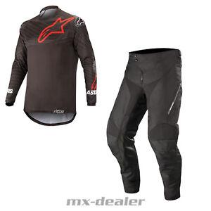 2021 Alpinestars Enduro schwarz Venture R Motocross MX Combo Cross Hose Jersey