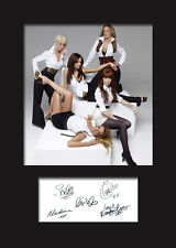 GIRLS ALOUD #2 A5 Signed Mounted Photo Print - FREE DELIVERY