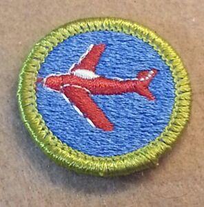 BSA AVIATION Merit Badge Type H (1972-2002) PLASTIC BACK   A00495