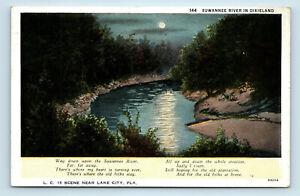 LAKE CITY, FL   SUWANEE RIVER IN DIXIELAND   POSTCARD