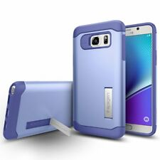New OEM Spigen Slim Armor with Kickstand Violet Case For Samsung Galaxy Note 5