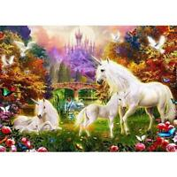Horses 5D Diamond DIY Painting Embroidery Cross Stitch Craft Kit Home Decor