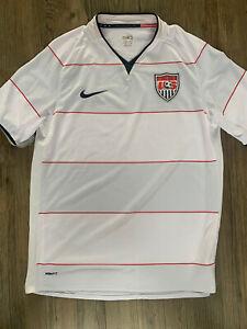 USA Football Shirt Nike M Soccer Jersey United States 2008 2009