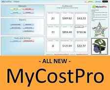 MyCostPro - An eBay Certified App, Track eBay & paypal Fees, profit, Spreadsheet