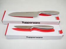 Tupperware Santoku Messer Set Asiatisches Profi-Messer Schälmesser & Kochmesser