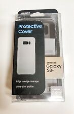 New Original Samsung Protective Cover Case For Samsung Galaxy S8 Plus - Clear