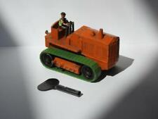 MOKO LESNEY 1948 Mécanique Lourd Crawler Tracteur Noir Roues Avec Driver +Clé