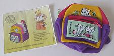 Ferrero Ü-Ei Maxi-Ei Happy Hippos Tasche mit BPZ! Gürteltasche Börse 1997!