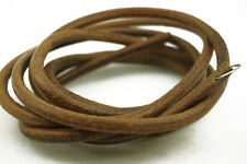 """72"""" (183cm) COWHIDE LEATHER BELT For SINGER TREADLE SEWING MACHINE - (5.6mm)"""