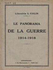 LE PANORAMA DE LA GUERRE 1914-1918  fascicule N° 29