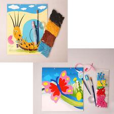 Set di 2, 1 Kit di Mosaico in Schiuma Farfalla, 1 crepe in KIT LUMACA, vendita al dettaglio 3.99 ciascuno, +