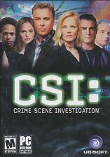 CSI Original Crime Scene Investigation PC Game DVD NEW!