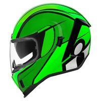 Integral Helm Motorrad Icon Airform Conflux Green Helmet Alle Größen