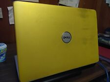 "GOLDEN YELLOW Dell Inspiron 1525, 15.4"", 250 Gb HD, 4 Gb RAM, WiFi, Windows 10"