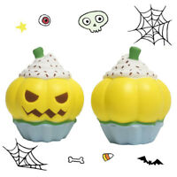 Squishy Pumpkin Ice Cream Squeeze Toy Slow Rising  Scented Stress Reliever Toys