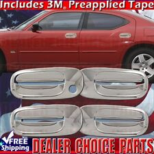 2006 2007 2008 2009 2010 DODGE CHARGER Chrome Door Handle COVERS Overlays Trims