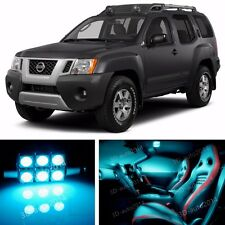 11pcs LED ICE Blue Light Interior Package Kit for Nissan Xterra 2005-2014