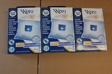 WPRO EL58-MW - Lot de 3  boîtes de 4 sacs aspirateurs + filtre moteur Electrolux