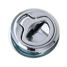 Toolbox Box Door Handle Small Tool Functional Round Pull Handle Silver Latch T