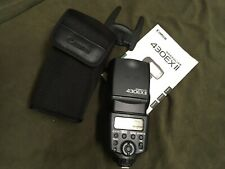 Canon 430 EX II Speedlite Flash DSLR Camera Shoe Mount Excellent Condition